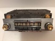 Oem 1958 Ford Fairlane 500 Skyliner Ranchero Town And Country Push Button Radio