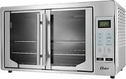 Oster French Convection Countertop And Toaster Oven | Single Door Pull And Digital