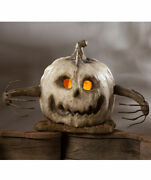 Bethany Lowe Halloween Into The Woods Large White Pumpkin Free Ship