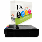 10x Cartridge For Dell 1320-cn 1320-c