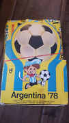 1978 Topps Argentina World Cup Soccer Football Unopened Box From Mexico 36 Packs