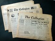 1944-46 Lot Vintage 4 Pennsylvania State College Collegian Newspapers