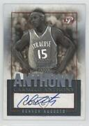 2003-04 Topps Pristine Personal Endorsements Carmelo Anthony Pea-ca Rookie Auto