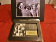 The Beatles S3 Minicell Framed Special Edition W/coa Unopened And Photo