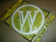 Plastic Round House Front Screen Door Last Name Letter Initial W Plaque Sign
