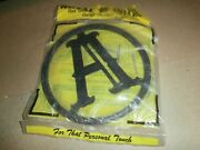 Plastic Round House Front Screen Door Last Name Letter Initial A Plaque Sign