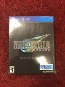 Final Fantasy Vii 7 Remake Deluxe Sold Out Playstation 4 Ps4 L⭕️⭕️k 🔥🔥🔥🔥