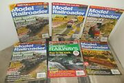 Model Railroader And Garden Railway Magazine Lot Of 6 Issues 2010