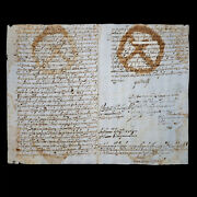 1698 King Charles Ii Spain Signed Document Royal Manuscript Autograph Royalty Es
