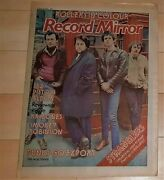 The Stranglers On Cover Record Mirror Magazine August 13th 1977 Also Pistols