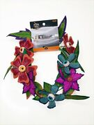Ghoulish Garden 6 Foot Garland Halloween Succulent Plant Hyde And Eek Target - Nwt