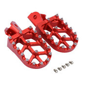 Cnc Foot Pegs Rests Footpegs Pedal For Crf150f Crf230f 2003-2019 2018 Red