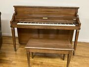 Baldwin Acrosonic Piano With Bench- Pick Up Only