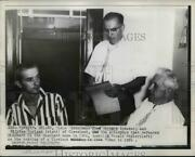 1957 Press Photo Fred Garmore And William Corigan Attorneys Defended Dr Sheppard