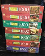 Lot 7 Charles Wysocki 1000 Pc Puzzleshickoryhaven In Winter, Old New England++