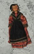 Vintage Plastic Doll 11 Inches Made In France -strung/org. Outfit