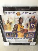 Kobe Bryant Fanatics Game Used Ball Limited 28/100 Rare Huge New In Plastic