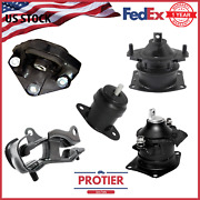 Engine Motor And Trans Mount 5pcs Set For 2004-2006 Acura Tl 3.2l For Auto Trans