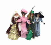4x Vintage 1966 Mattel Barbie With Clothes Shoes Hatsearnings And Ring - China