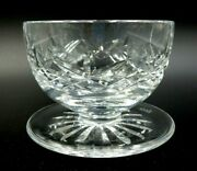 Waterford Fine Leaded Crystal Lismore Footed 3.5 Tall Dessert Bowl Ireland