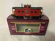 Mth Premier New York Central Pittsburgh Lake Erie Lighted Steel Caboose 20-91174