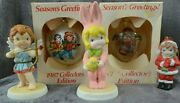 Campbell Soup Figurines / Ornaments Lot Of 5