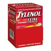 Tylenol Extra Strength Caplets - 100 Count Pack Of 6