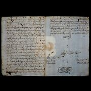1692 King Charles Ii Spain Signed Document Royal Manuscript Autograph Royalty Es