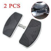 2pcs/l+r Universal Adjusted Motorcycle Front Rider Floorboards Foot Boards Pedal