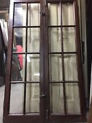 Old Casement Windows With Hardware 61 X18ea 36open