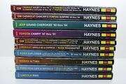 Assorted Pre-owned Haynes Manuals