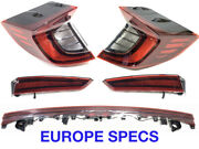 Lot 5 Pcs Hyundai Sonata Dn8 2019-2021 Europe Spec Tail Lights Left Right In-out