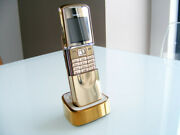 Nokia 8800 Sirocco Gold Luxury Edition 18k Gold Data Protection