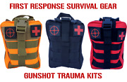 Tactical Molle First Aid Survival Range Bag Trauma Kit Ifak Stop The Bleed
