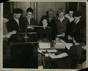 1939 Press Photo First Crew Returns To Put Plant In Shape For Operation.