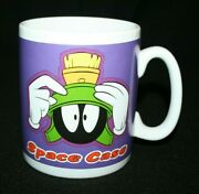 Warner Brothers Marvin The Martian 1996 Space Case Xl Coffee Tea Oversize Mug