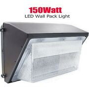 10pack 150w Led Wall Pack Light Ip65 Outdoor Waterproof Fixture Security Lights