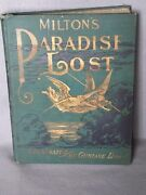 Milton's Paradise Lost,illustrated By Gustave Dore- Gorgeous Vintage Book