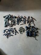 Vintage 90and039s Gi Joe 12 Inch Figures Accessories Lot Metal And Plastic