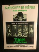 Terror In The Wax Museum 1973 30x40 Movie Poster Horror Ray Milland