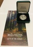 Latvia Lettlandlettonie 5 Euro Silver Coin Pp 2019 Gifts Of The Forest
