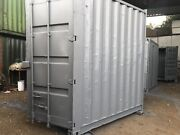 8x7 Ft 9andrdquo6 Highcube Secure Storage Containers With Two Lock Boxes Anti Cond
