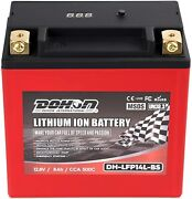 Lfp14l-bs High Performance - Maintenance Free - Replace Agm Motorcycle Battery