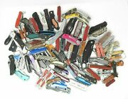 Wholesale Lot Of Pocket Knives And Multi-tools - 18 Per Pound