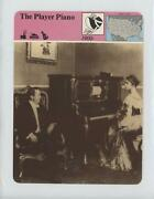 1979-80 Panarizon Story Of America Deck 56 Printed In Italy The Player Piano
