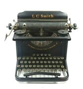 Vintage 1930 Lc Smith And Corona Typewriter Inc. Model 8-11 Not Working