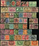 German Republic 105-117 118-136 137-160 Postage Stamp Collection Europe Used
