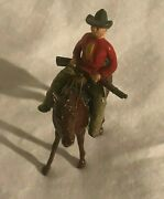 Benbros Timpo Britains Lead Toy Cowboy With Rifle Rare