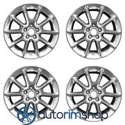 Ford Mustang 2010-2012 18 Factory Oem Wheels Rims Set Polished