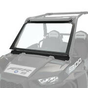 Polaris Glass Vented Full Windshield Clear